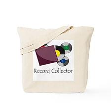 Record Collector Tote Bag