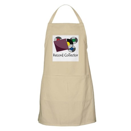 Record Collector BBQ Apron