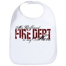 My Girlfriend My Hero - Fire Dept Bib