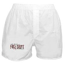 My Girlfriend My Hero - Fire Dept Boxer Shorts