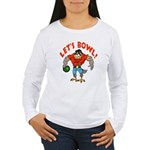 Bowling Falcon Women's Long Sleeve T-Shirt