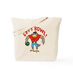 Bowling Falcon Tote Bag