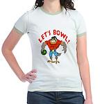 Bowling Falcon Jr. Ringer T-Shirt