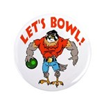 "Bowling Falcon 3.5"" Button"