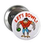 "Bowling Falcon 2.25"" Button"