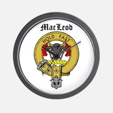 Clan MacLeod Wall Clock