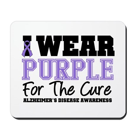 Alzheimer's For The Cure Mousepad