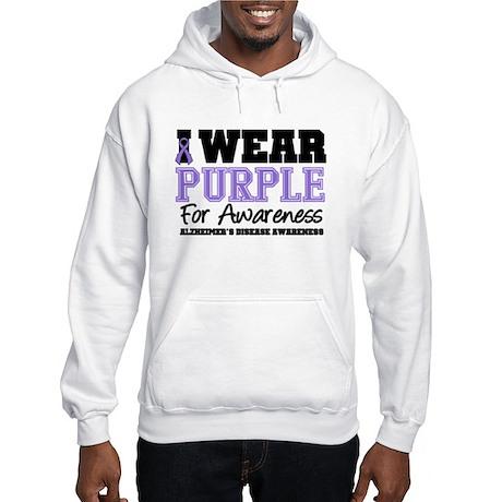 Alzheimer's Awareness Hooded Sweatshirt