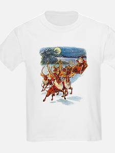 SANTA & HIS REINDEER T-Shirt