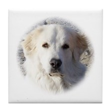 The Great Great Pyrenees - Tile Coaster
