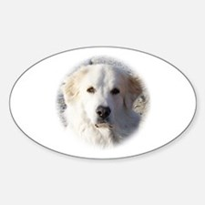 The Great Great Pyrenees - Oval Decal