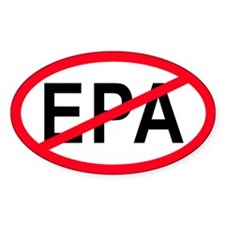 Anti-EPA Oval Decal
