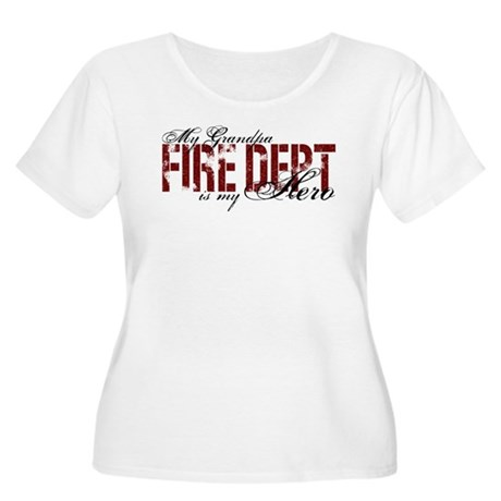 My Grandpa My Hero - Fire Dept Women's Plus Size S