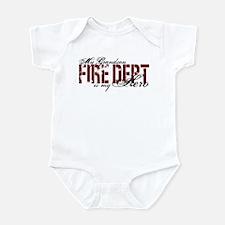 My Grandson My Hero - Fire Dept Infant Bodysuit