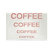 COFFEE COFFEE COFFEE Rectangle Magnet
