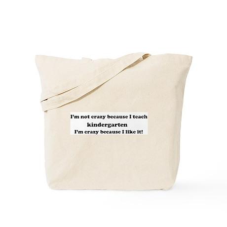 Kindergarten Crazy Tote Bag
