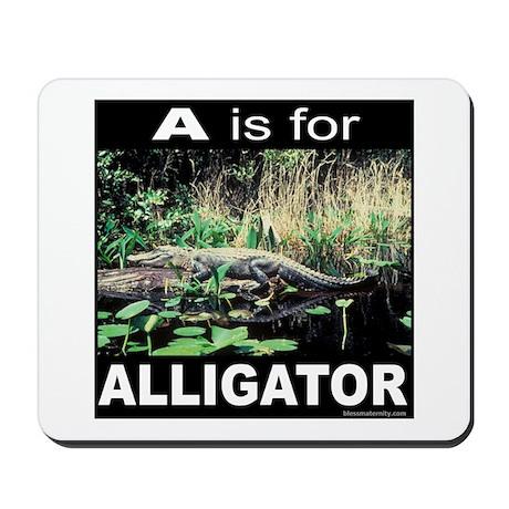 ABC'S/ALPHABET Mousepad