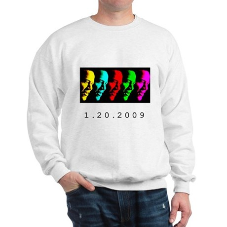 Barack Obama: 1.20.2009 - Sweatshirt