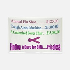 Finding a Cure...Priceless Rectangle Magnet