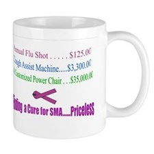 Finding a Cure...Priceless Mug