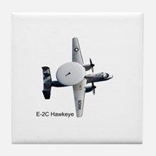 E-2 Hawkeye Tile Coaster