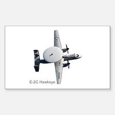 E-2 Hawkeye Rectangle Decal