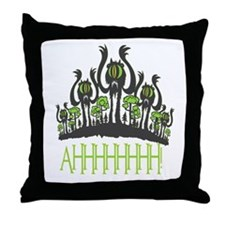 Ahhh Monsters Throw Pillow