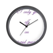 Cool Bill compton Wall Clock