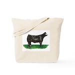 Baldie Steer Tote Bag