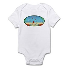 Kiteboarding Kitesurfing Infant Bodysuit