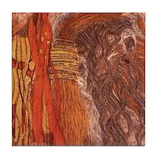 Tile 6/12 Klimt Art Tile Coaster Hygieia Medicine
