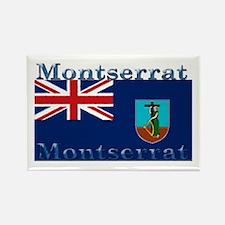 Montserrat Rectangle Magnet