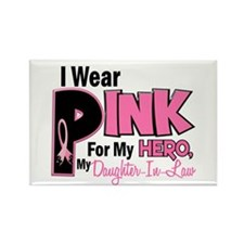 I Wear Pink For My Daughter-In-Law 19 Rectangle Ma