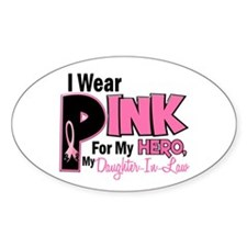 I Wear Pink For My Daughter-In-Law 19 Decal