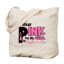 I Wear Pink For My Daughter-In-Law 19 Tote Bag