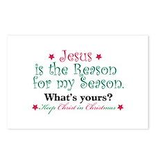 Jesus is my reason Postcards (Package of 8)