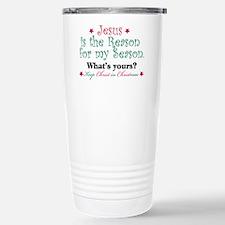 Jesus is my reason Stainless Steel Travel Mug