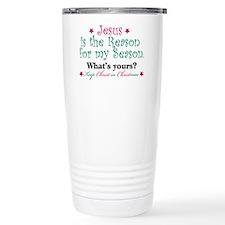 Jesus is my reason Travel Mug