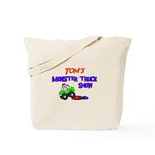 Tom's Monster Truck Tote Bag
