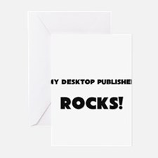 MY Desktop Publisher ROCKS! Greeting Cards (Pk of