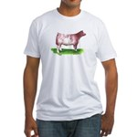 Shorthorn Steer Fitted T-Shirt
