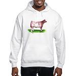 Shorthorn Steer Hooded Sweatshirt