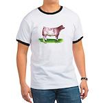 Shorthorn Steer Ringer T