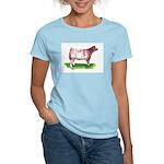 Shorthorn Steer Women's Light T-Shirt