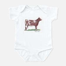 Shorthorn Heifer Infant Bodysuit