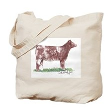 Shorthorn Heifer Tote Bag