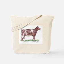 Shorthorn Heifer Tote Bag