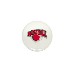 Dodge Ball Logo Mini Button (100 pack)