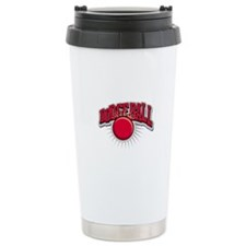 Dodge Ball Logo Travel Mug