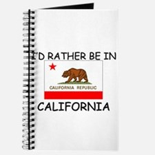 I'd rather be in California Journal